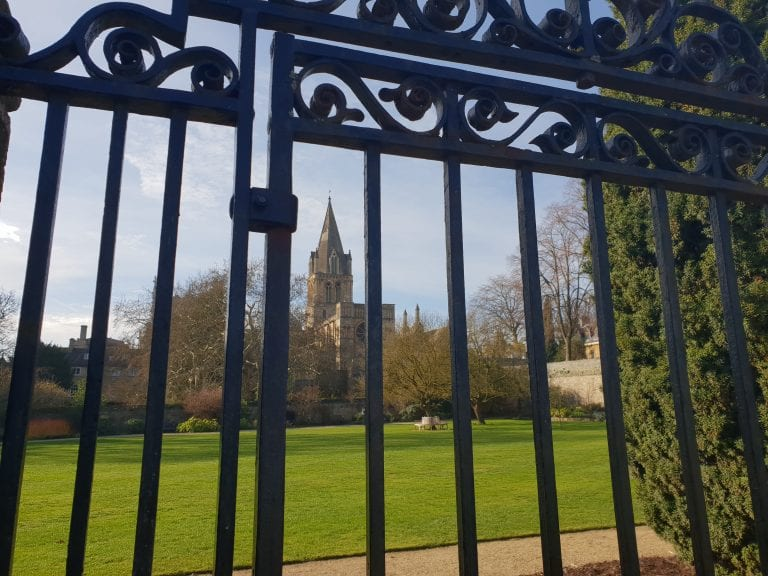 Oxford Media And Business School Christchurch Meadow Gates