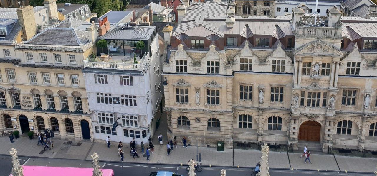 Oxford Media And Business School High Street Skyline Oxford