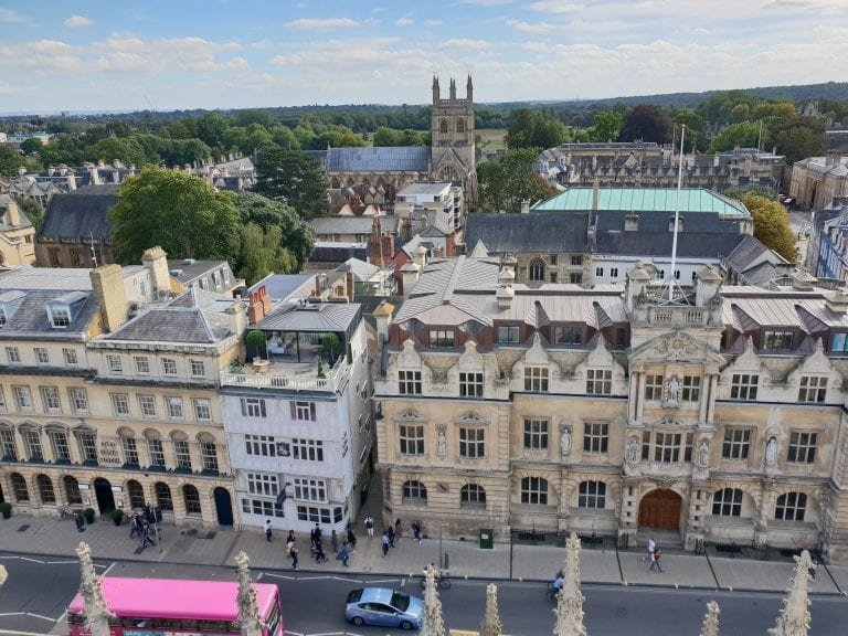 Oxford Media And Business School High Street Skyline Oxford