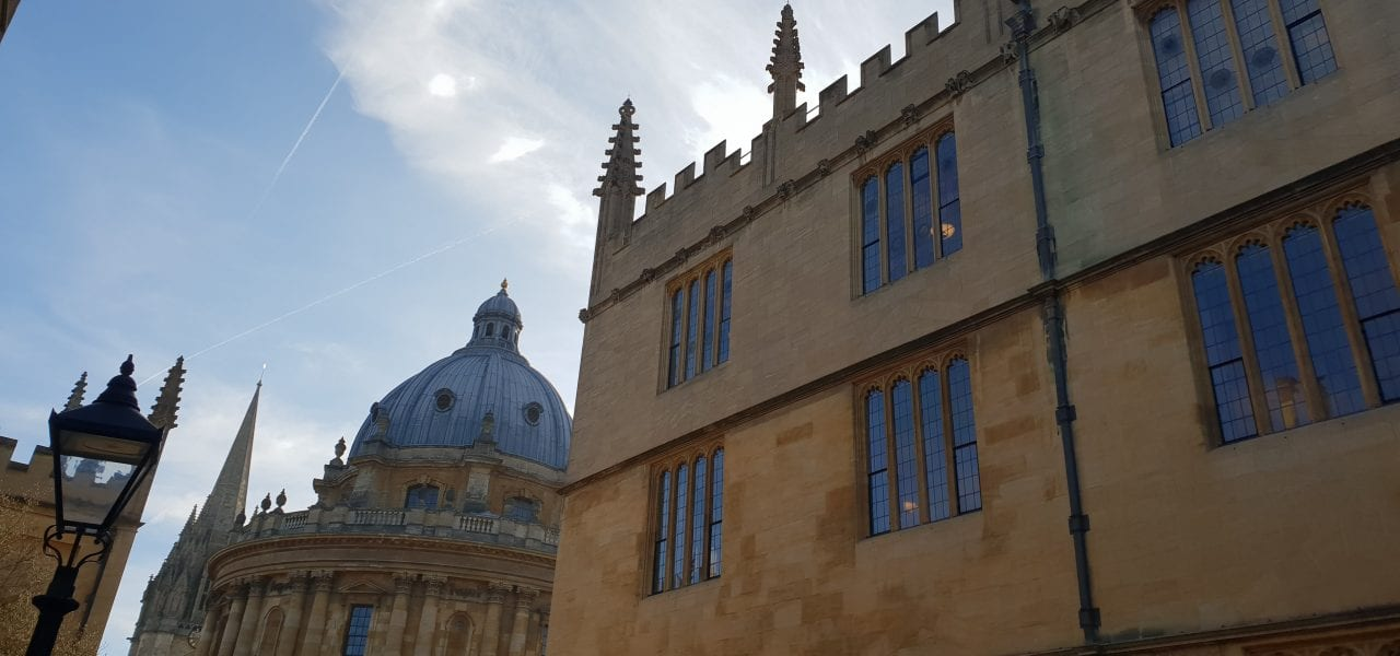 Oxford Media And Business School Radcliffe And Bodleian
