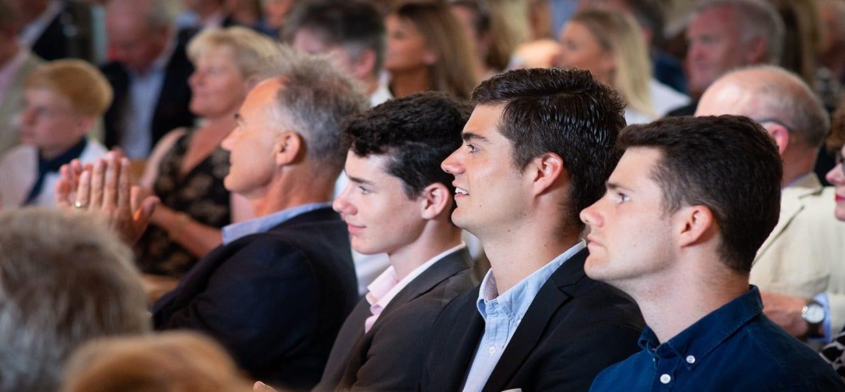 Oxford Media & Business School Graduation Day Boys