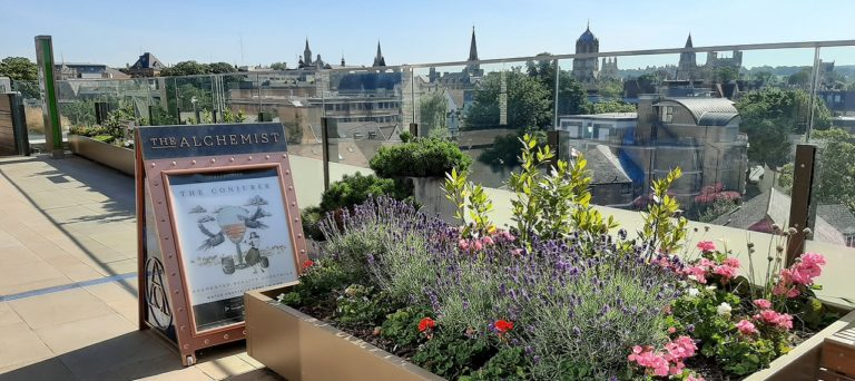 Oxford Media and Business School - Westgate rooftop restaurants